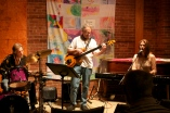 with Billy Klock on drums and Wim Auer on fretless bass