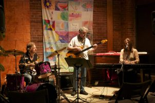 The Trio (Billy Klock, drums, and Wim Auer, fretless bass)
