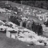 Two Hymns:  Aberfan Funeral 27th. October 1966.
